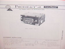 1977 GM BUICK CADILLAC CHEVROLET OLDS PONTIAC 8-TRACK/AM-FM RADIO SERVICE MANUAL