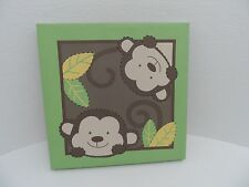 Babies R Us By Design Monkey Light Up Art Wall Softly Light up Wall Decor - VGC