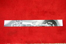 Confederate P120 Fighter motorcycle sales banner / poster.