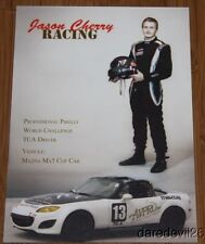 2014 Jason Cherry Racing Mazda MX5 TCA SCCA PWC postcard