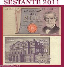 ITALY  ITALIA  1000 1.000 LIRE VERDI 2° TIPO 30.5. 1981,   P. 101h,   FDS / UNC