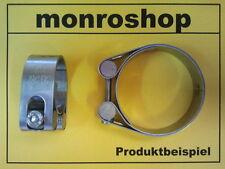 Schelle 65 mm Rundbolzenschelle Schlauchschelle Auspuffschelle Edelstahl 61-67mm