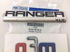 2006-2011 Ford Ranger RH or LH XLT NAMEPLATE Emblem OEM 6L5Z-16720-A New