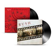 RUSH  - 2 180 GRAM VINYL ALBUMS - CLOCKWORK ANGELS 2 LP + MOVING PICTURES + MORE