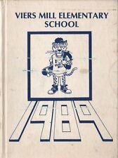 Yearbook Viers Mill Elementary School Silver Spring Maryland Jaguars 1989