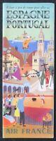 Brochure touristique AIR FRANCE ESPAGNE PORTUGAL Bayle dépliant Tourisme