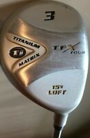 Knight Ti Titanium Matrix 3 Fairway Wood RH