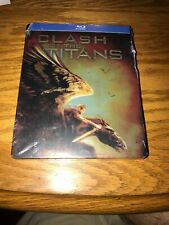 CLASH OF THE TITANS (2010) (BLU-RAY STEELBOOK BRAND NEW AND SEALED