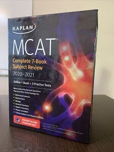 Kaplan MCAT Complete 7-Book Subject Review 2020-2021
