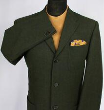 Trussardi Blazer Jacket Green 40R EXCEPTIONAL ITEM 3014