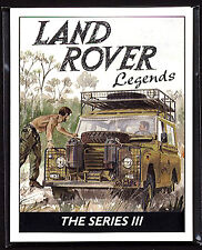 LAND-ROVER SERIES III 'LEGENDS' 1971-85 Collectors Cards - Station Wagon Pickup