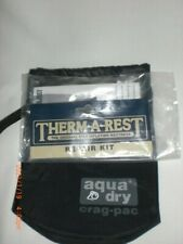 THERM-A-REST REPAIR KIT & AQUA DRY CRAG-PAC CAMPING REQUISITES