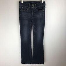 American Eagle Jeans - Original Bootcut Dark Wash- Tag Size 0 Long (26x32) #2674