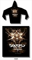 Soulfly Dark Ages Black Pull Over Sweatshirt Hoodie New Official Sepultura Max