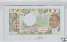 REPUBLIQUE DU GABON EPREUVE UNIFACE 10 000 FRANCS ND (1971) PICK 1 ES !!