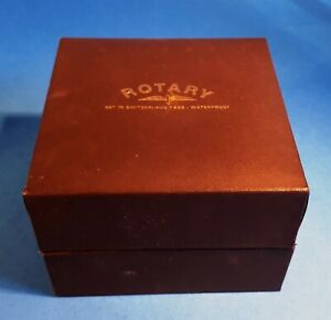 Mens ROTARY Swiss Made Mens Quartz Gold-Plated White Face Watch. GB02764/08