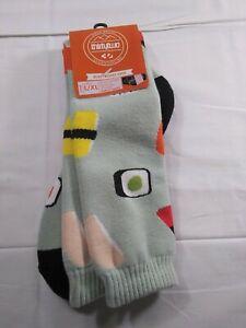 New Men's L/XL 9-14 Thirtytwo Snowboarding Socks Heavy weight