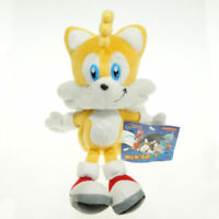 "9"" Sonic the Hedgehog & Miles Tails Plush Stuffed Authentic Doll Kids Toys"