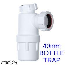 WTBT 4076 Viva 40mm Easi-Flo BOTTIGLIA TRAPPOLA CON GUARNIZIONE 75mm * Più Economici Su eBay *