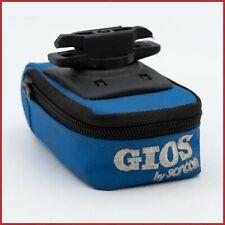 GIOS TORINO BLUE BICYCLE SADDLE BAG ACCESSORIES ROAD RACING BIKE VINTAGE 90s