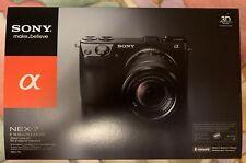 NEW Sony Alpha NEX-7K 24.3MP Digital Camera - Black (Kit w/ E OSS 18-55mm Lens)