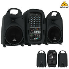 Behringer PPA500BT Europort Bluetooth Portable PA System l USA Authorized Dealer