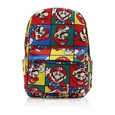 Finex Mario Brothers Canvas Backpack with Laptop storage compartment for  School 0bd02fc4fc377