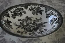 ROYAL STAFFORD ASIATIC PHEASANT LARGE SERVING BOWL(s) - BLACK - NEW