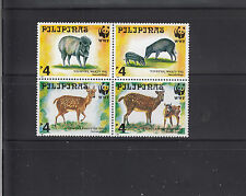 Philippines 1997 WWF Animals  Sc 2479b  mint never hinged