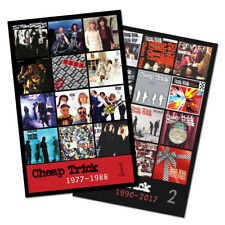 "CHEAP TRICK - twin pack discography magnet set (two 4.75"" x 3.75"" magnets)"