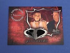 Buffy TVS Connections Dual Pieceworks Card PWC-1 Buffy & Spike Skirt & Pants