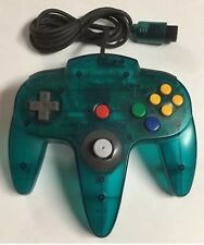 Original OEM Nintendo 64 N64 ICE BLUE Controller Tested Clean All Buttons Work