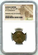 Ancient Rome Eastern Empire, Emperor Probus 276-282 AD, BI Aurelianianus, NGC!