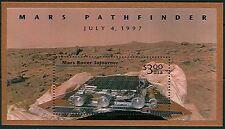 USA 3178 Mint NH Mars Rover Space Mint Souvenir Sheet high Face Value Issue
