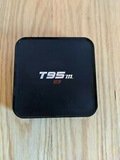 T95M 4K Android Box - TV Box 4K Media Streamer Internet TV with Remote Used