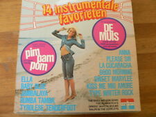 LP RECORD VINYL PIN-UP GIRL 14 INSTRUMENTALE FAVORIETEN NEGRAM DE MUIS PIM PAM P