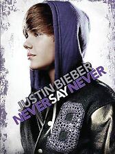 Justin Bieber - Never say never DVD Versione italiana(nuovo/sigillato)+40 Minuti