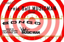 Ernie Ball MusicMan Bongo - Waterslide decal