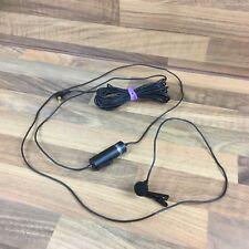 Vintage 33-3003 Genexxa Omnidirectional Lapel Mic Microphone Good Condition