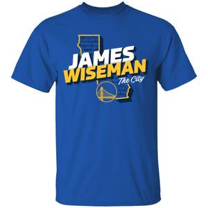 Men's #33James Wiseman Golden State Warriors 2020 Basketball Draft T-Shirt M-4XL