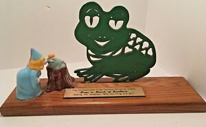 Funny Weird Sign Plaque Trophy Princess and the Frog finishings school Humor