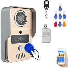RFID WIFI Wireless Smart remoto Videocitofono Videocitofono IR Sicurezza fotogra