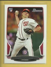 Nathan Karns 2013 Bowman Draft Rookie Card # 3 Kansas City Royals Baseball