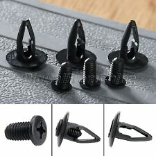 50Pcs Plastic Car Bumper Fender Clips Retainer Nylon Rivet for Mazda Nissan