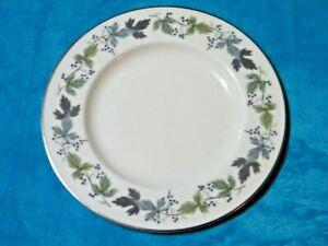 Royal Doulton Burgundy Salad/Starter/Dessert Plate (T.C.1001) VGC Free UK P&P