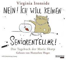 Virginia Ironside Nein! Ich will keinen Seniorenteller! (2007, Leserin:.. [4 CD]