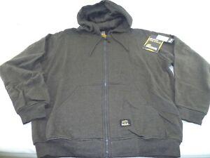 Men's Berne Heritage Thermal Lined Hooded Sweatshirt, Large (SZ101CH)