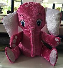 One Only Elephant Pink Baby Gift Teddy Comforter.