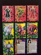 DC COMICS BLOODLINES COMPLETE 81 BASE CARD SET SKYBOX