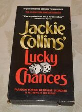 1995 Jackie Collins Lucky Chances VHS Tape EP Mode Color USA
